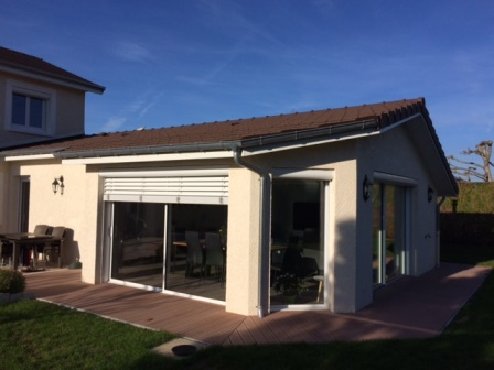 Extension DUne Maison DHabitation  Novathome